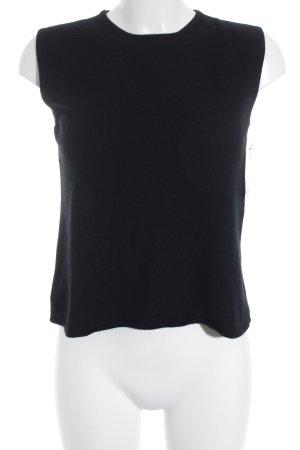 FFC Feinstrickpullunder schwarz schlichter Stil