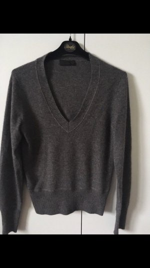 FFC Pull en cashemire gris anthracite
