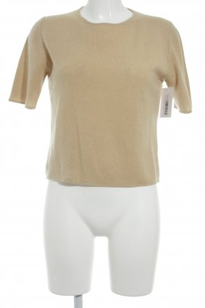 FFC Short Sleeve Sweater camel casual look
