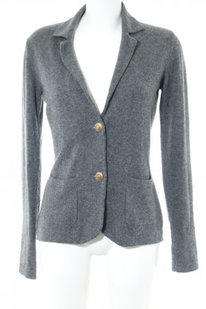 FFC Knitted Blazer light grey flecked business style