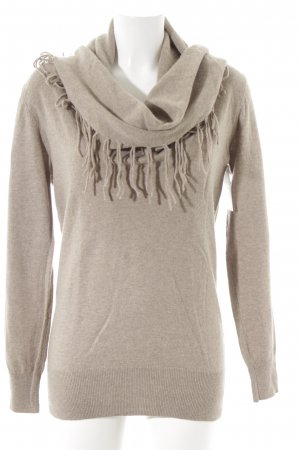FFC Wollpullover hellbraun Casual-Look