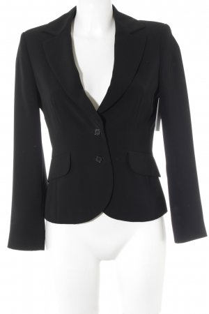 FFY Jerseyblazer schwarz Business-Look