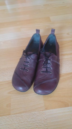 FIDJI Damen Schuhe Schnürschue Größe 38