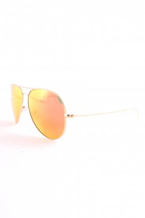 Fielmann Gafas de sol redondas color oro look casual