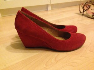 FIFTH AVENUE Wedges Gr. 39 Wildleder neuwertig