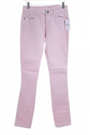 Fiftyfive DSL Skinny Jeans altrosa Street-Fashion-Look