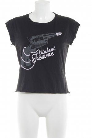 Fiftyfive DSL T-Shirt Motivdruck Casual-Look