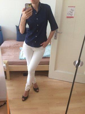 figurbetonende weiße Hose von HM, wie neu