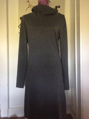 Vestido de lana gris Viscosa