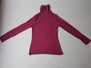Miss H. Turtleneck Shirt dark red mixture fibre