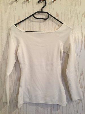 Figurbetonendes Shirt in Weiß