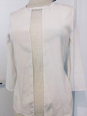 Figurbetonte Bluse aus 100 % Seide