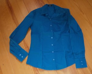 Carnabys Long Sleeve Blouse cadet blue-petrol cotton
