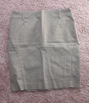 H&M Midi Skirt grey brown