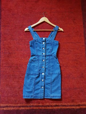 H&M Denim Dress blue cotton