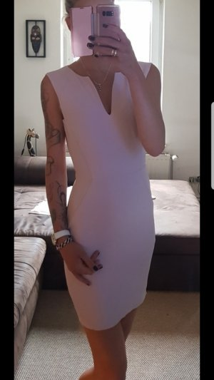 Mango Abito longuette rosa pallido