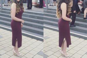 Gina Tricot Stretch Dress multicolored