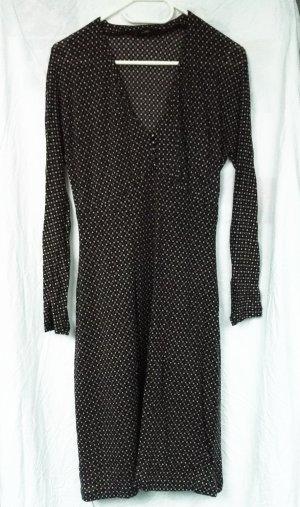 Seventy Shirtwaist dress black-grey