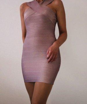 Figurbetontes Kleid von Missguided in Taupe
