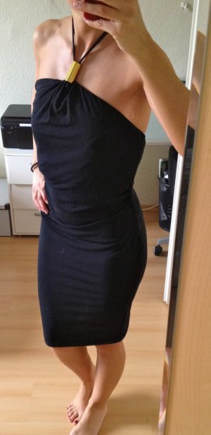 Tube Dress dark blue