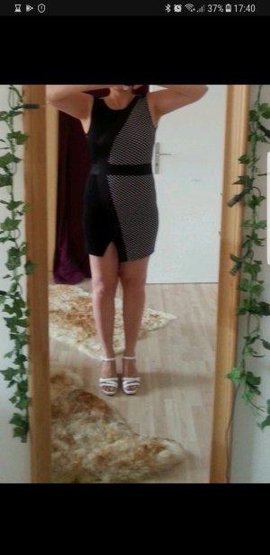 Figurbetontes Kleid von Vero Moda, Gr. 38 (M 36 S) Bodycon schwarz/weiß