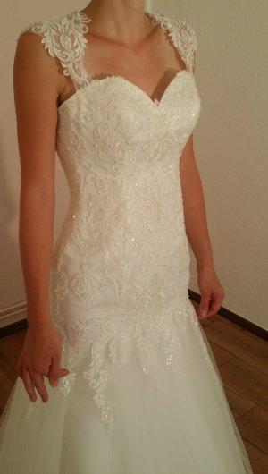 Wedding Dress white-natural white synthetic