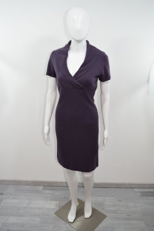 Orsay Knitted Dress blackberry-red-brown violet polyacrylic