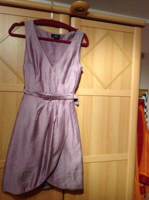 H&M Robe portefeuille violet viscose
