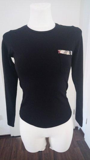 Figurnahes BURBERRY Shirt schwarz