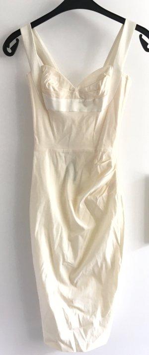 Hybrid Vestido bustier crema