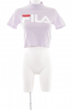 Fila Cropped Top blasslila Casual-Look