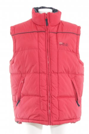 Fila Down Vest red casual look