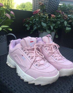 Fila Heel Sneakers light pink