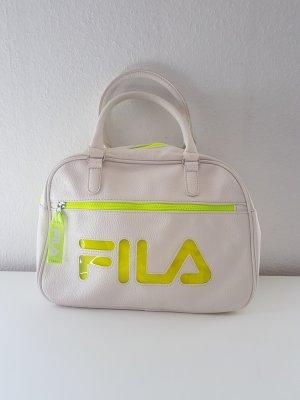 Fila Handtasche Umhängetasche weiß Neon gelb