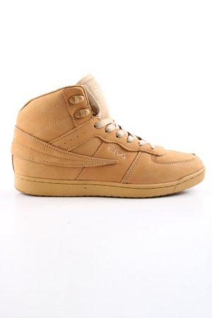Fila High Top Sneaker light orange athletic style