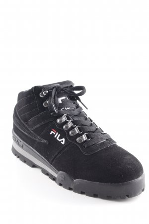 Fila High Top Sneaker schwarz Urban-Look