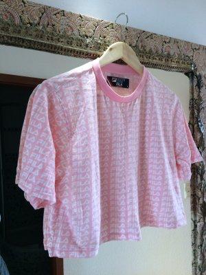 Fila Kurz-Shirt rosa Urban Look