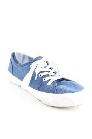 Fila Schnürschuhe weiß-stahlblau sportlicher Stil