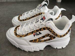 FILA Sneaker weiß Leoprint Limited Edition 39