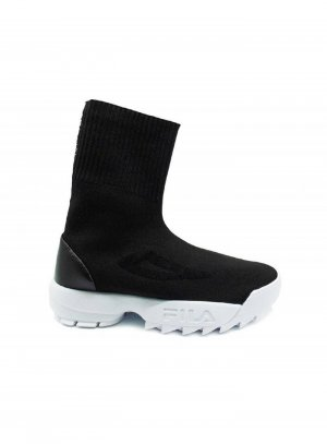 Fila Sock Boots   Schwarz   Größe 42