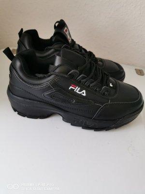 Fila Sneakers met veters zwart