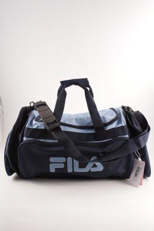 Fila Sporttas donkerblauw-korenblauw casual uitstraling