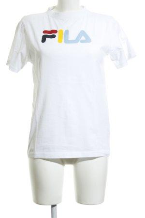Fila T-Shirt Motivdruck Casual-Look