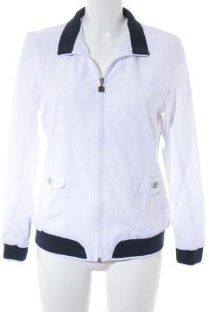 Fila Übergangsjacke weiß-dunkelblau sportlicher Stil