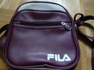 Fila Carry Bag purple imitation leather