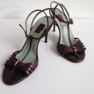 Filigrane Riemchen-Sandalen von Cox • Sandalen mit Lederriemchen