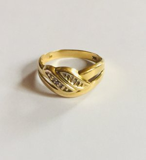 Gold Ring gold-colored real gold