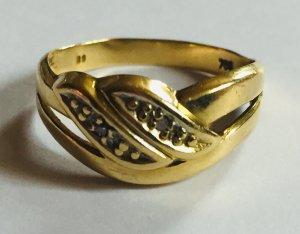 Bague en or doré or