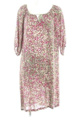 Filippa K A-lijn jurk gestippeld patroon casual uitstraling