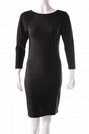 Filippa K Bodycon Dress Black Glitter